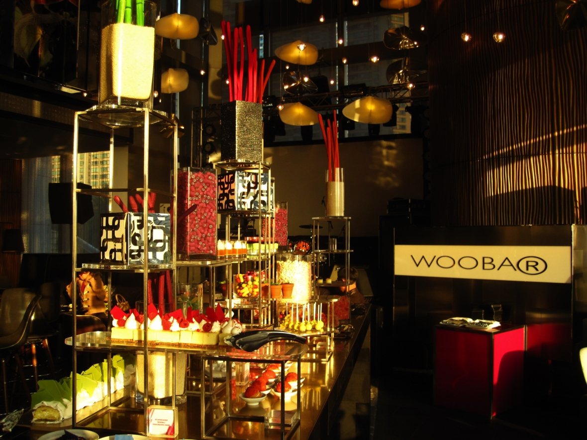 WooBar at the W - Tea-se me T - the sweet buffet