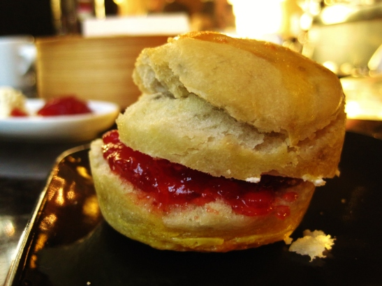 WooBar at the W - Tea-se me T - the scones
