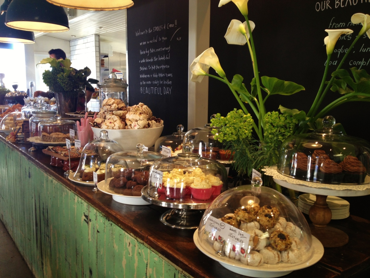 Afternoon Tea at the Stables at Como House - the dessert counter