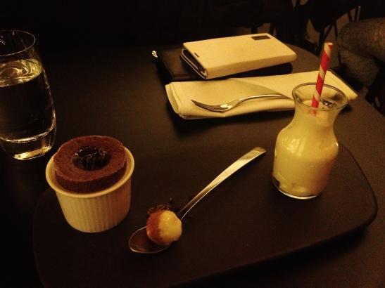 "Om Nom Dessert Bar - the ""Chocolate Souffle"""