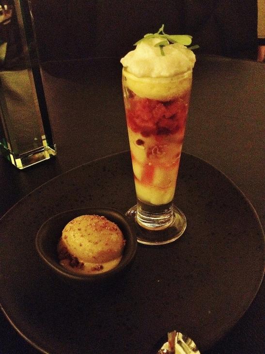 """Om Nom Dessert Bar - the  """"Pineapple Verrine"""""""