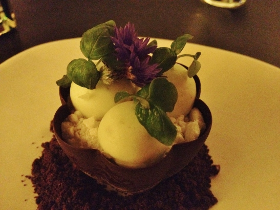 "Om Nom Dessert Bar - the ""Basil Garden"""