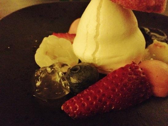 "Om Nom Dessert Bar - the ""Raspberry Fields"""