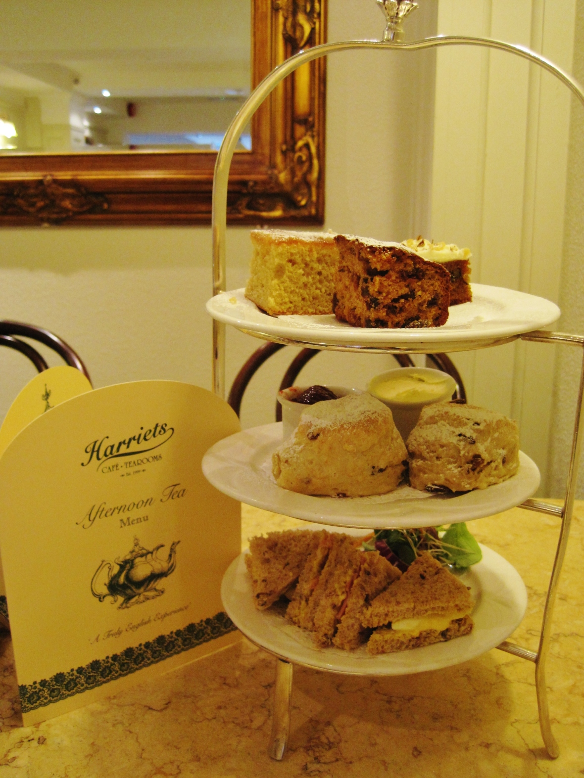 Afternoon Tea in Cambridge - Harriet's Tea Room