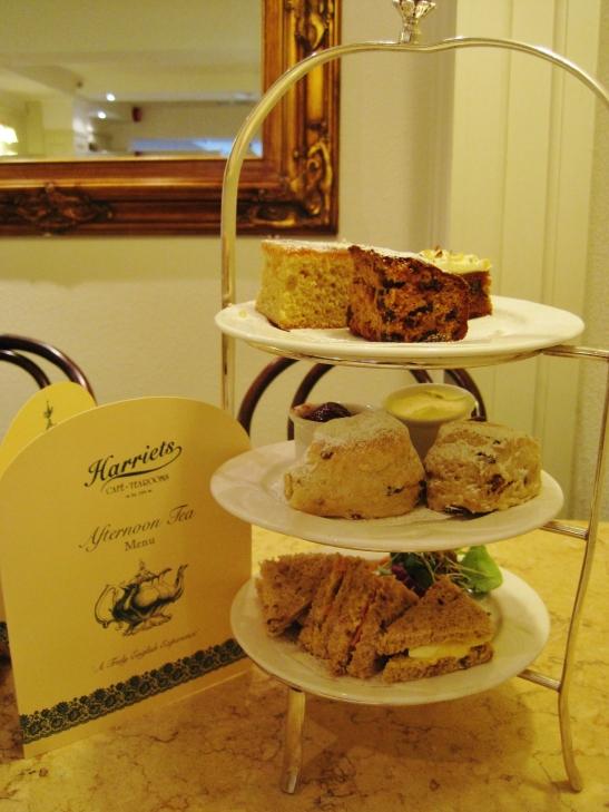 Afternoon Tea in Cambridge - Harriet's Tea Room