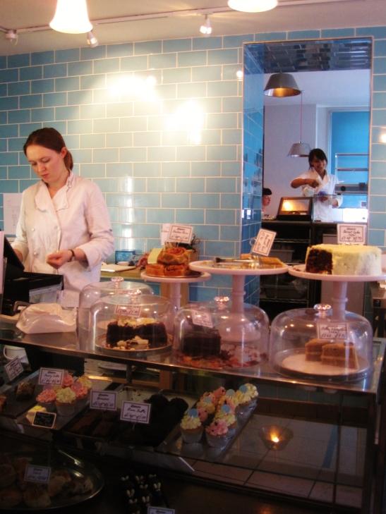 Afternoon Tea in Cambridge - Fitzbillies