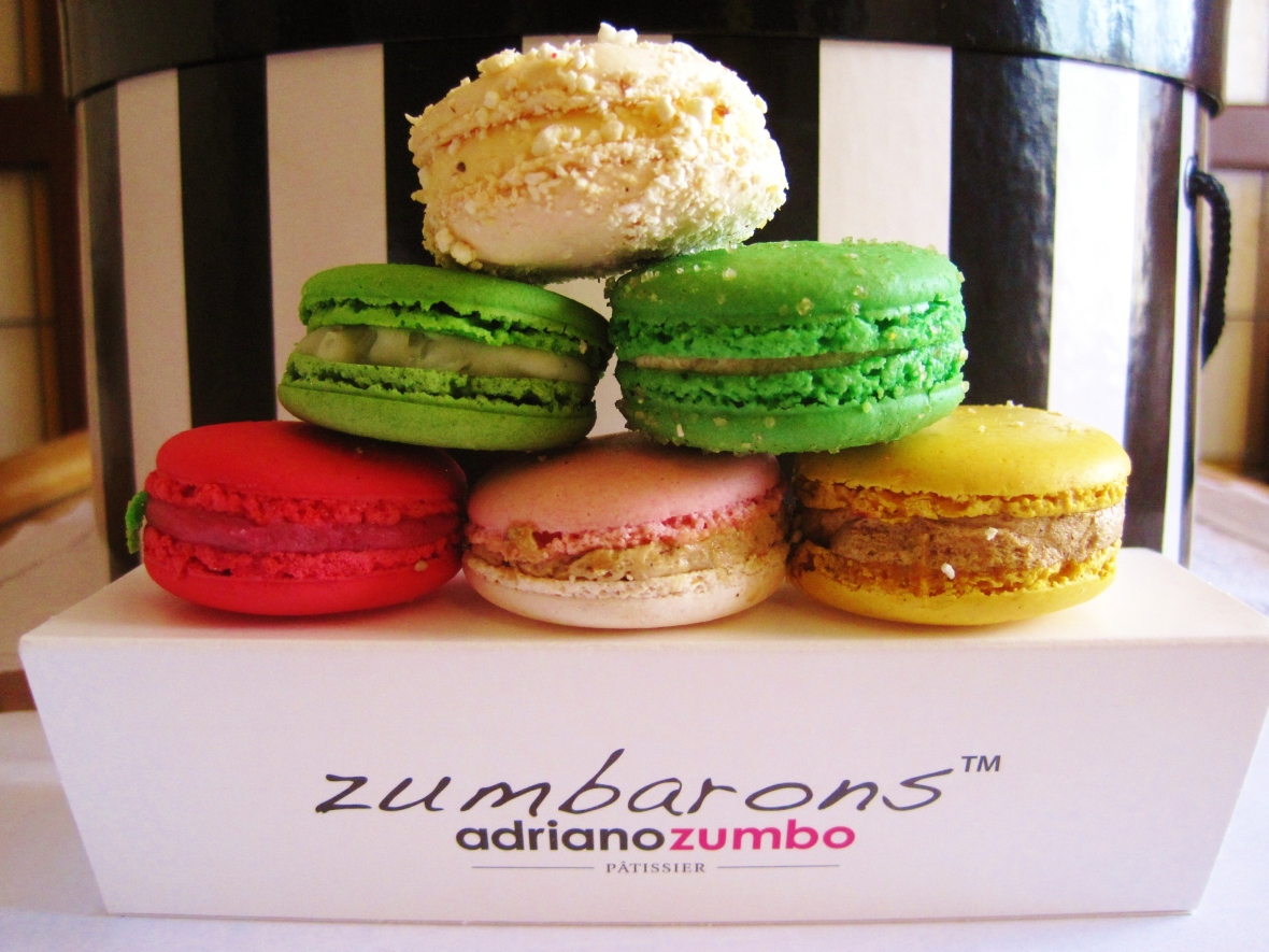 "Adriano Zumbo - the ""Zumbarons"""