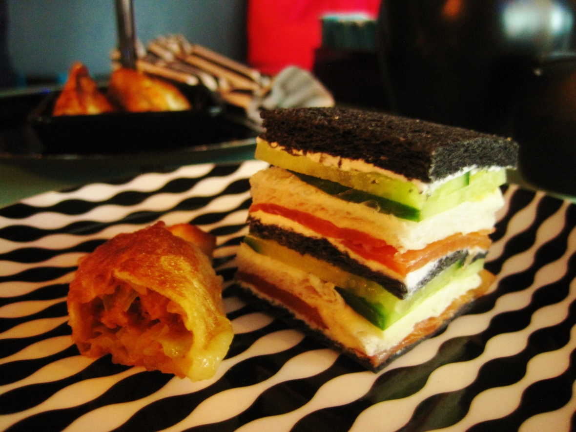 C'est le B Cakery Afternoon Tea - the savoury tier