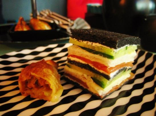 C'est le B Cakery Afternoon Tea - the savoury tier