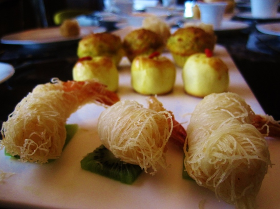 Hotel Icon's Above and Beyond - Dim Sum Afternoon Tea - the savouries
