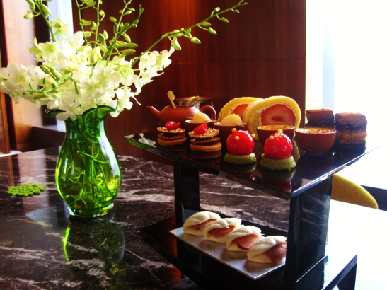 Hotel Icon's Above and Beyond - Dim Sum Afternoon Tea - sweets