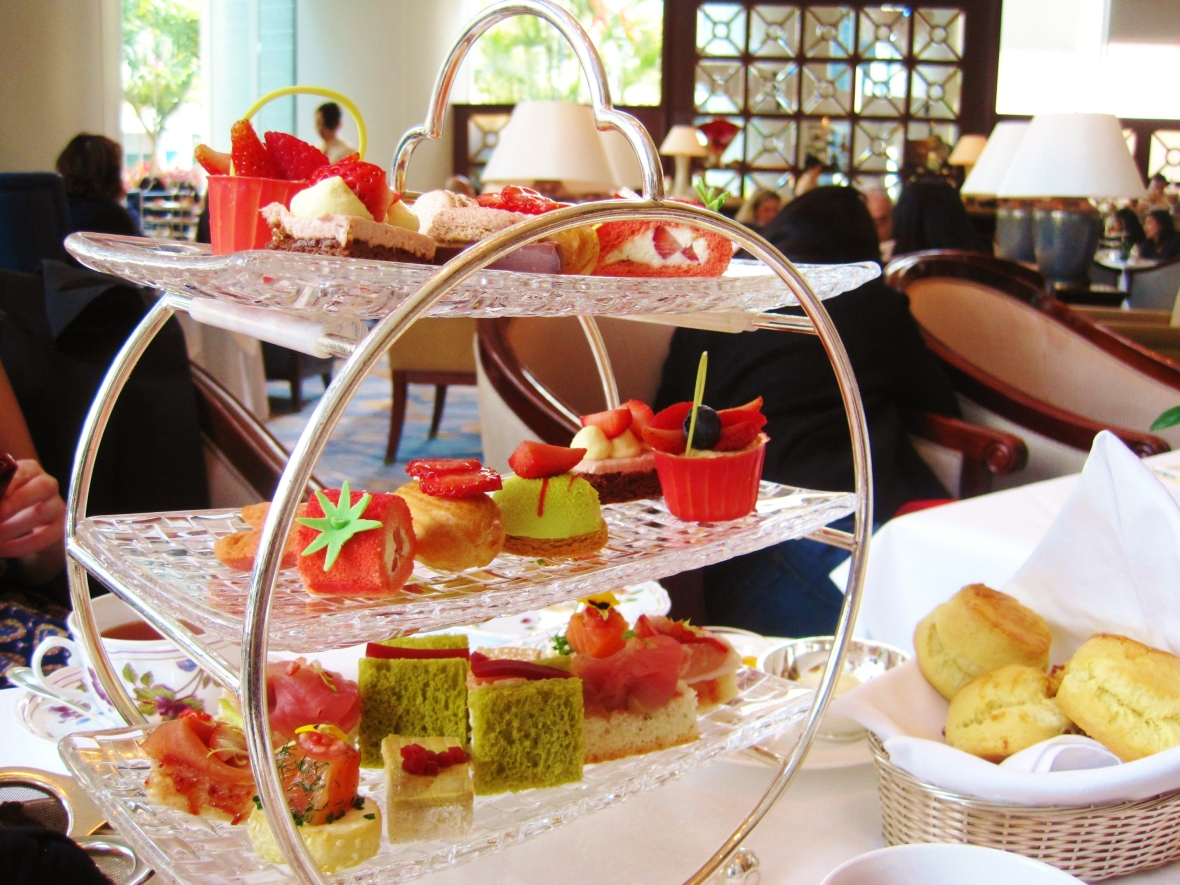 Afternoon Tea at the Island Shangri La Hong Kong - the high tea