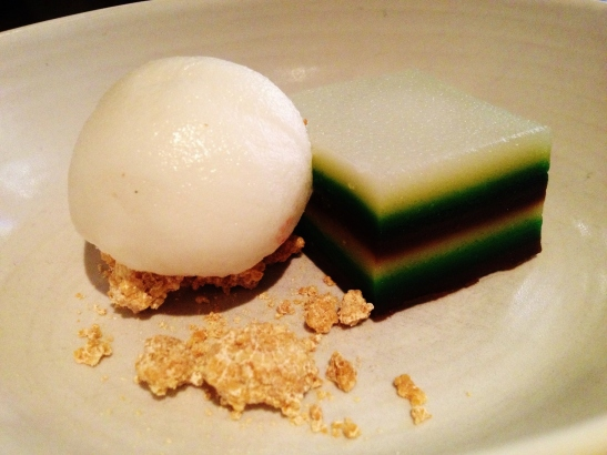 "Burma Lane - the ""Coconut and Pandan Steamed Cake"""
