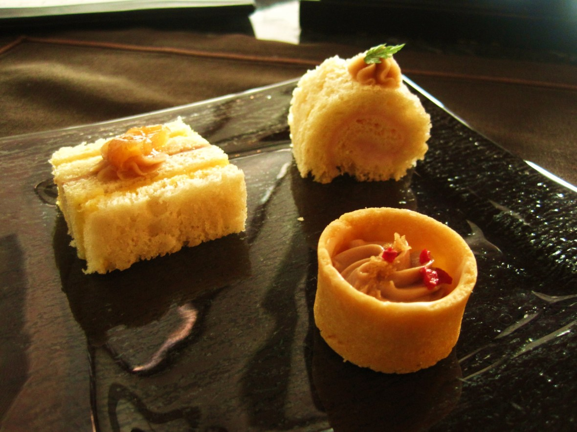 The Ritz Carlton Hong Kong - the savoury bites