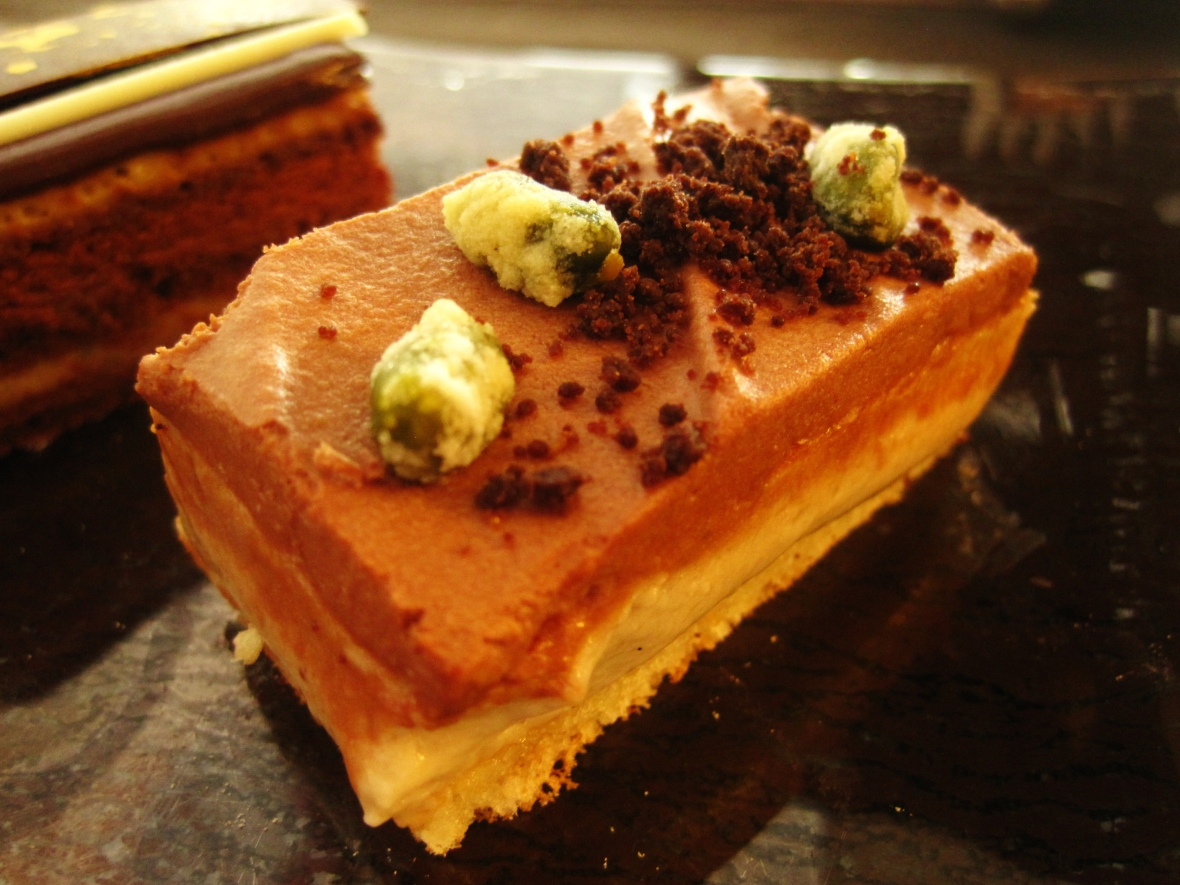 "The Ritz Carlton Hong Kong - the ""Chestnut Chocolate Cheesecake"""