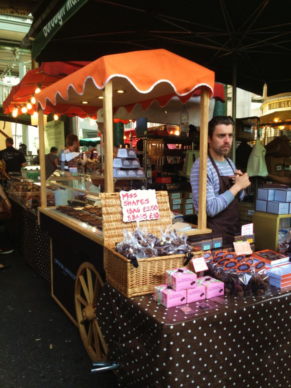 MoMo & Coco's Guide to London's Borough Market Desserts - Artisan du Chocolat