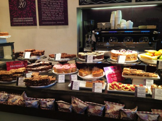 MoMo & Coco's Guide to London's Borough Market Desserts - Konditor & Cook