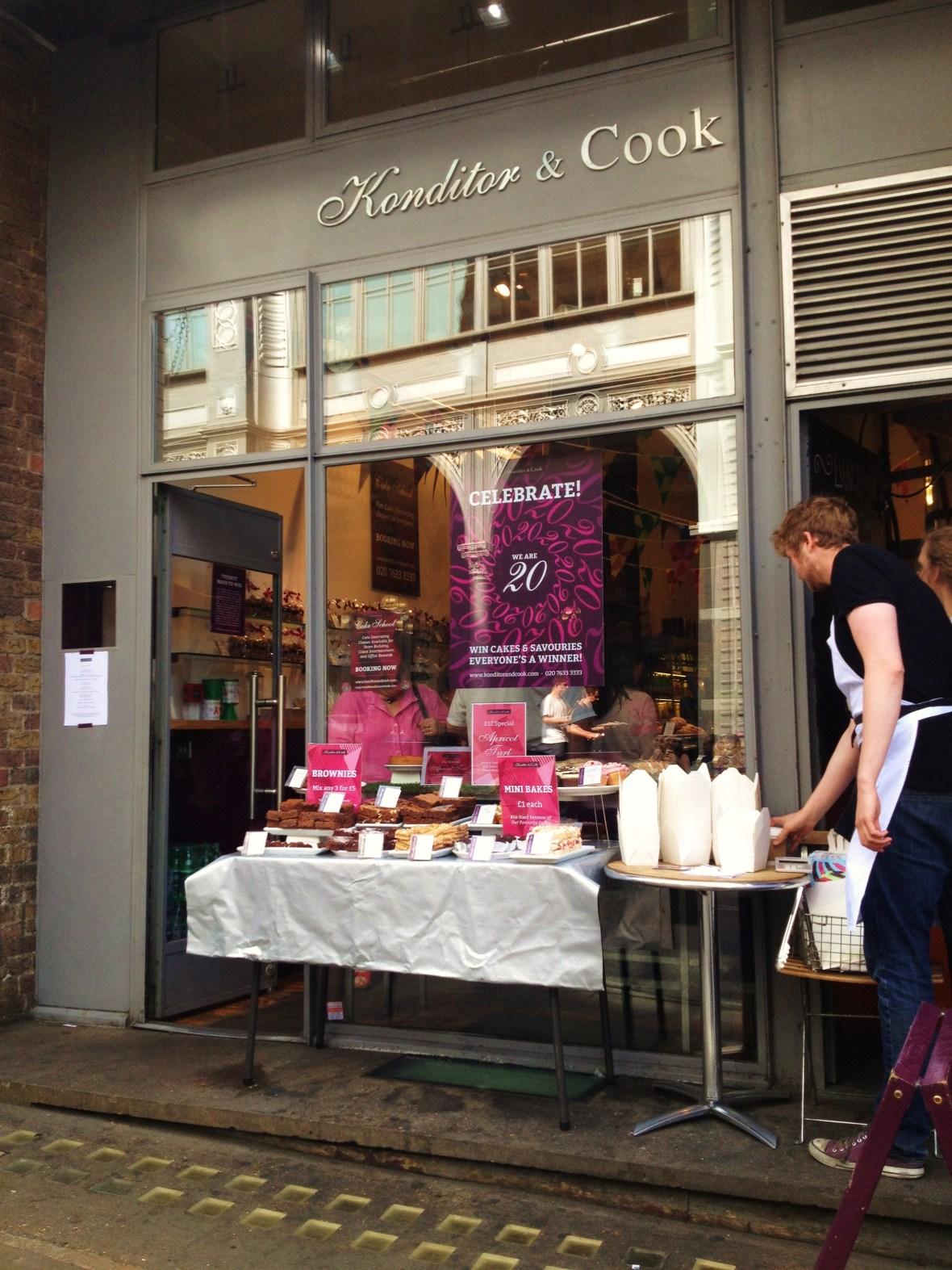 MoMo & Coco's Guide to London's Borough Market Desserts - Konditor & Cook