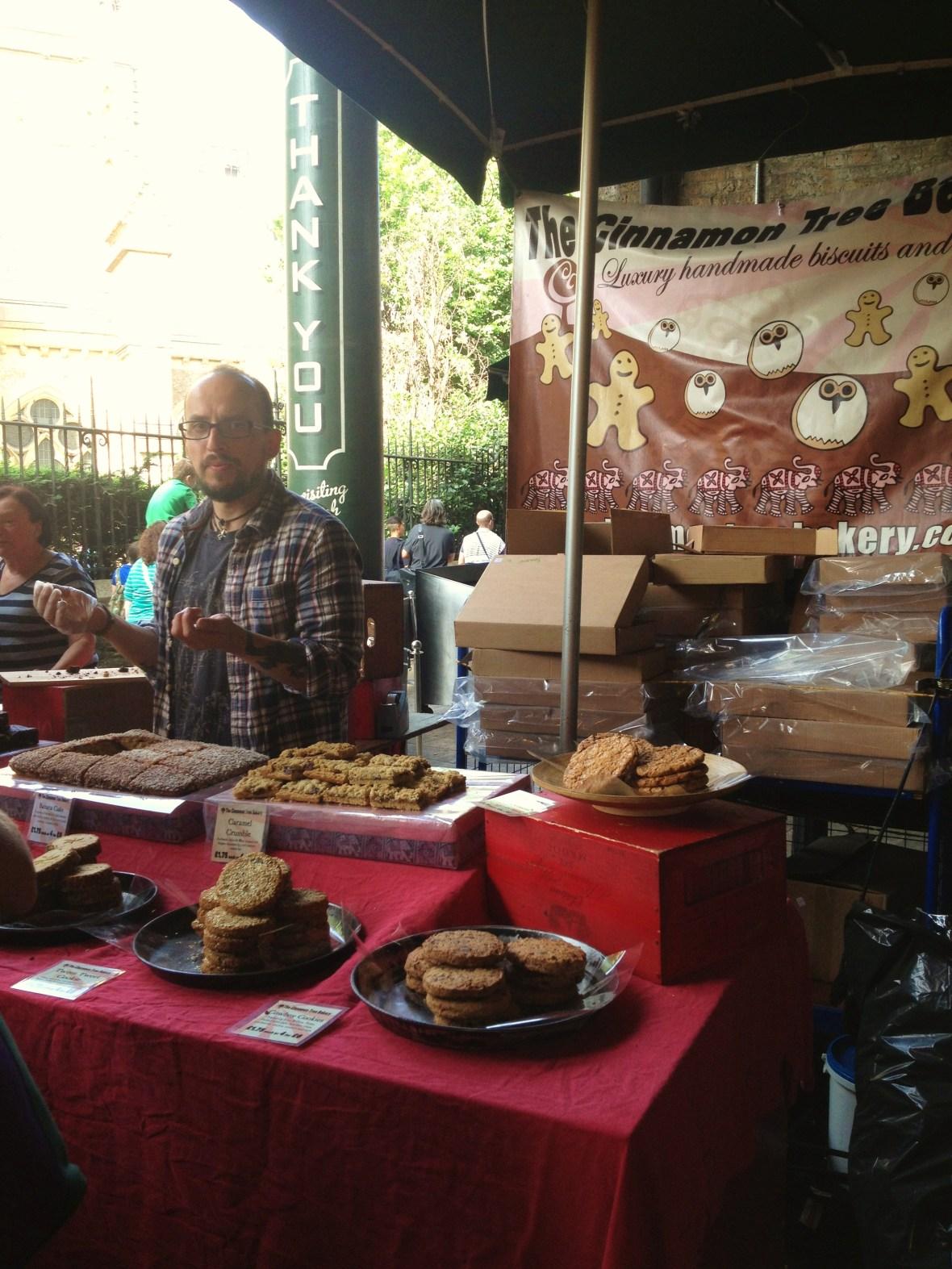 MoMo & Coco's Guide to London's Borough Market Desserts - Cinnamon Tree Bakery