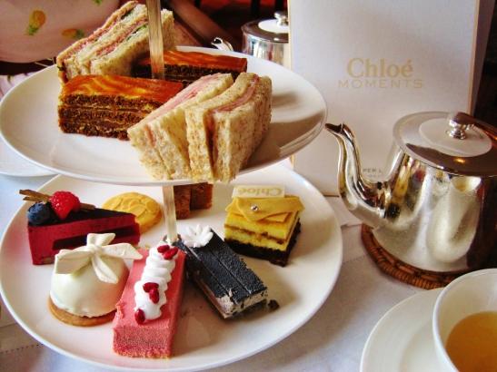 Mandarin Oriental Clipper Lounge - Chloe Afternoon Tea